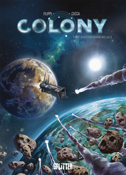 Colony Comic-Review, Splitter Verlag