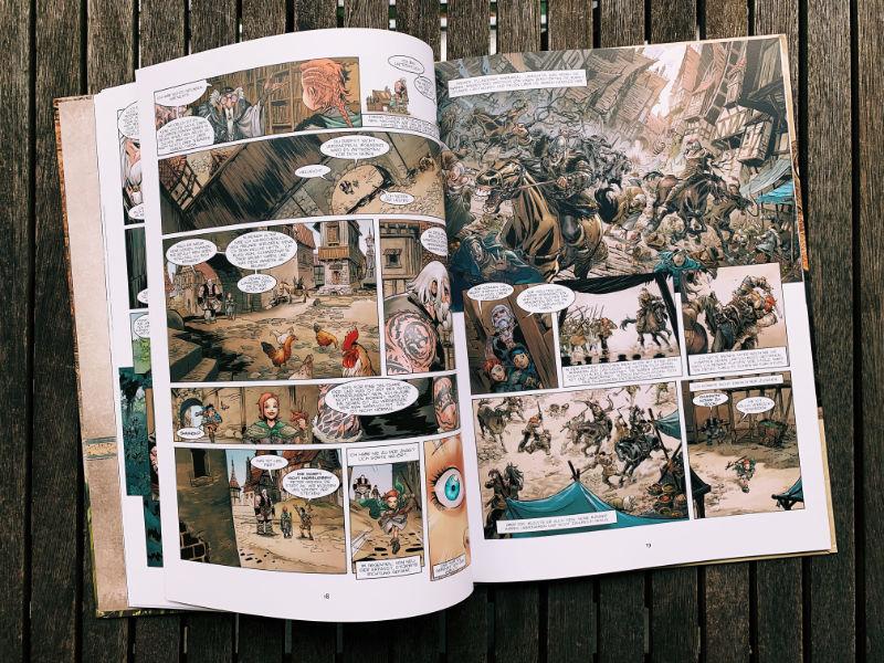 Comic-Review Magier 1: Aldoran, Splitter Verlag