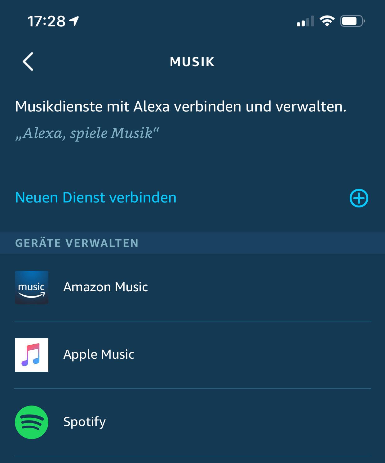 Apple Music auf Amazon Echo Geräten