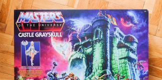 Castle Grayskull in der Masters of the Universe Origins-Version