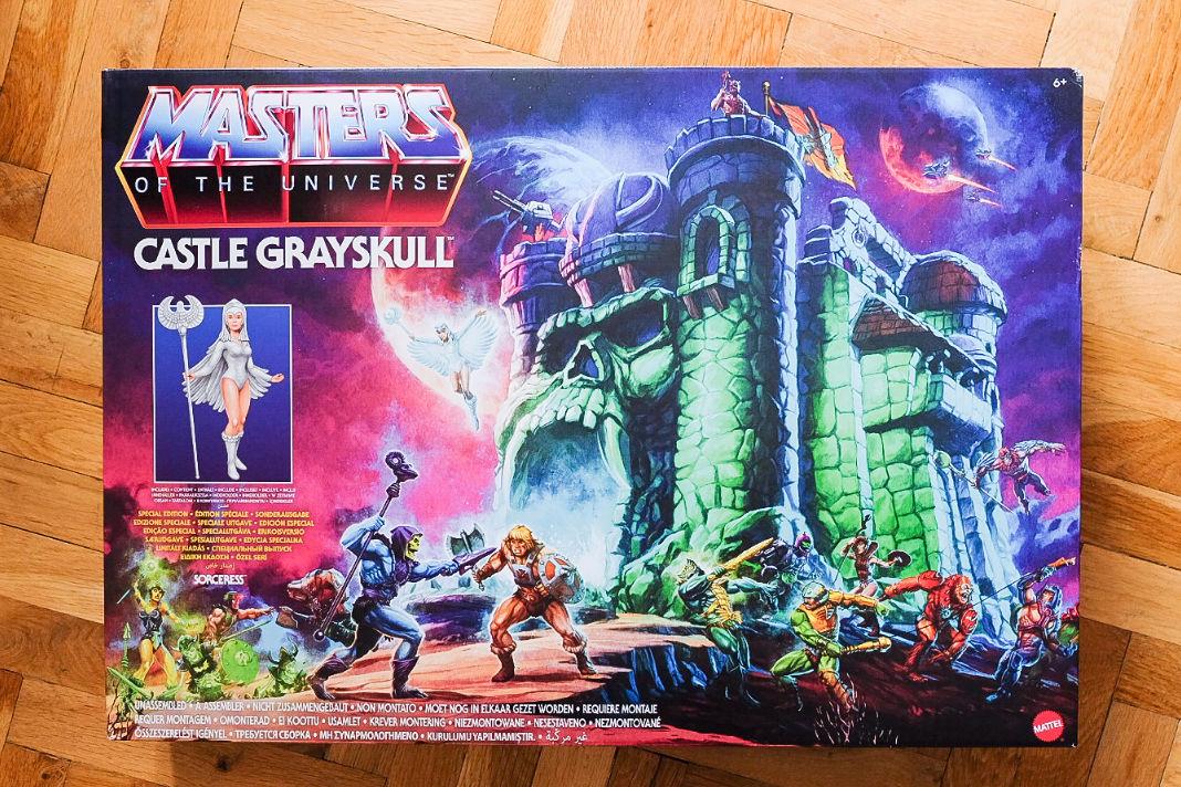 Castle Grayskull in der Masters of the Universe Origins-Version