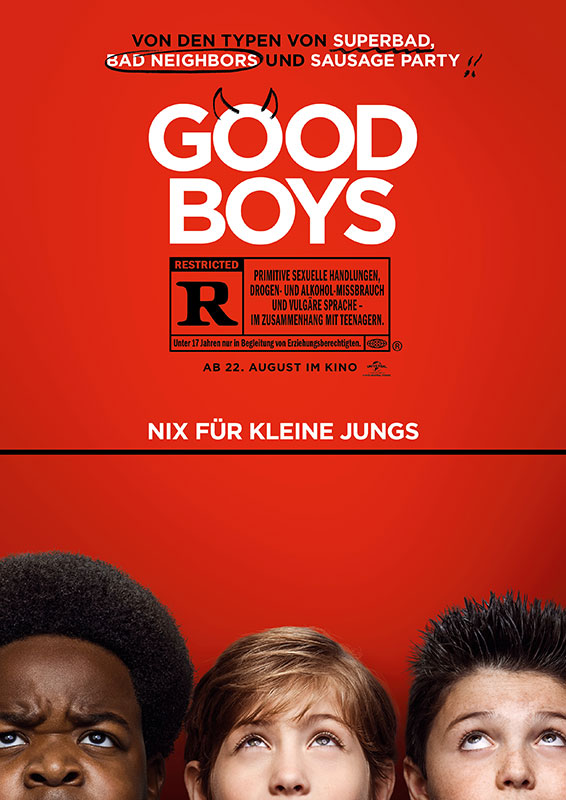 Good Boys, Universal Pictures