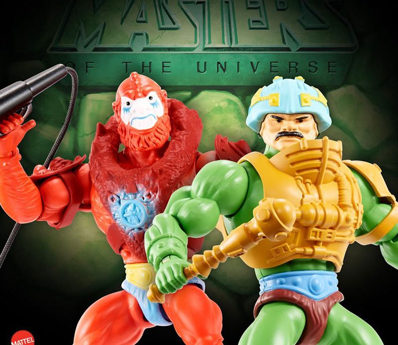 Beast-Man und Man-At-Arms, Masters of the Universe Origins von Mattel