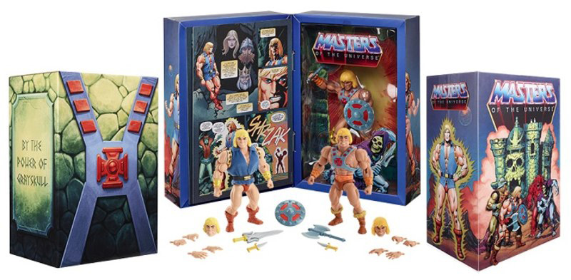 Comic Con 2019 - Prinz Adam und He-Man Exclusive, Masters of the Universe Origins von Mattel