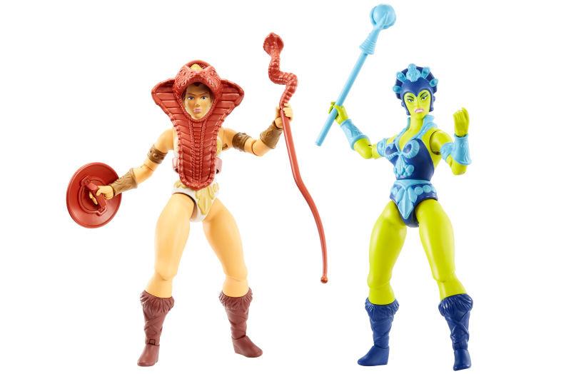 Tesla und Evil-Lyn, Masters of the Universe Origins von Mattel