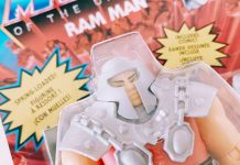 Ram Man in der Masters of the Universe Origins-Version