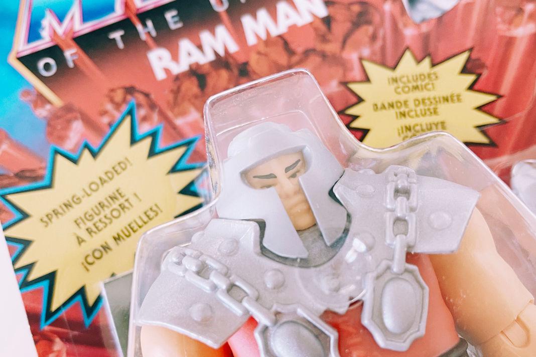 Ram Man in der Masters of the Universe Origins-Version